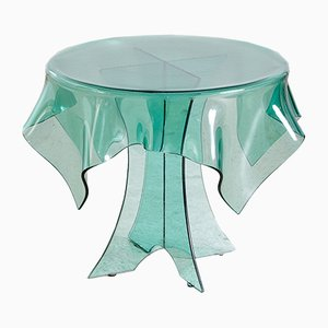 Vintage Glass Coffee Table, 1960s