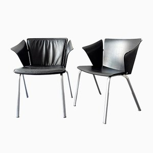 Model VM3 Armchairs by Vico Magistretti for Fritz Hansen, 1990s, Set of 6