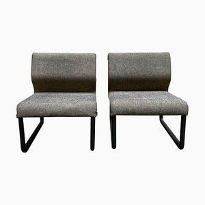 Vintage Italian Lounge Chairs, Set of 2
