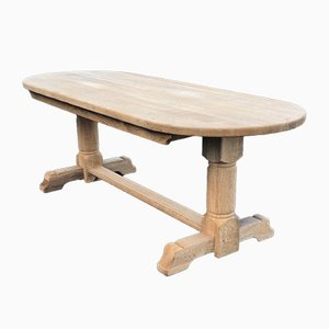 French Oak Farmhouse Dining Table