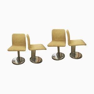 Chaises de Salon Vintage, 1970s, Set de 4