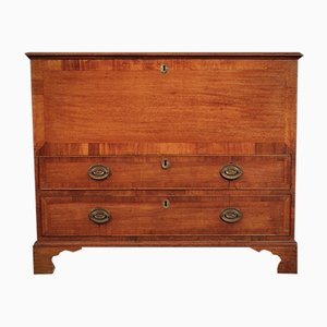 Antique Georgian Mahogany Mule Chest