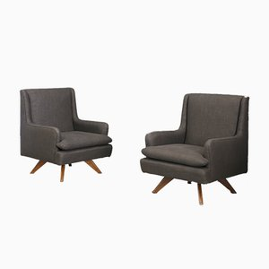 Mid-Century Lounge Chairs by Vladimir Kagan, 1960s, Set of 2