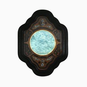 Antique Napoleon III Bullseye Cabinet