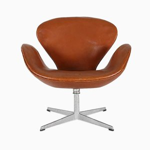 Mid-Century Swivel Chair by Arne Jacobsen for Fritz Hansen, 1960s