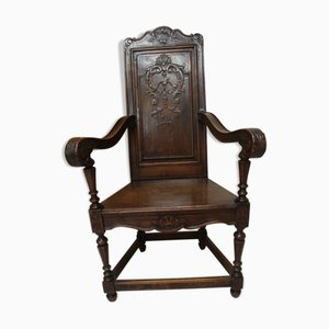 Carved Armchair
