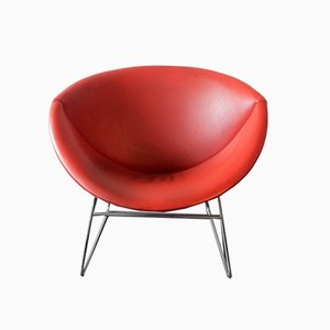 Mid-Century Dutch Model Cocco Lounge Chair by Rudolf Wolf for Rohé Noordwolde