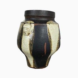 Deutsche Vintage Modell Heads Vase aus Keramik von Gerhard Liebenthron, 1970er