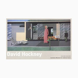 Beverly Hills Housewife Offset by David Hockney