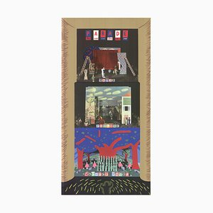 Parade-Metropolitan Opera Poster by David Hockney, 1982