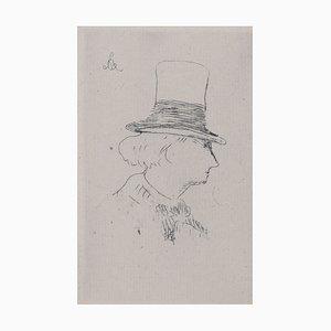 Grabado Charles Baudelaire de Edouard Manet, 1862