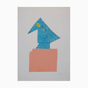 Baj Chez Picasso 1 Etching by Enrico Baj, 1978