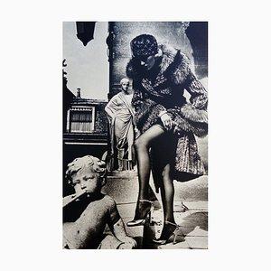 Fotografia di moda Parigi di Helmut Newton, 1976