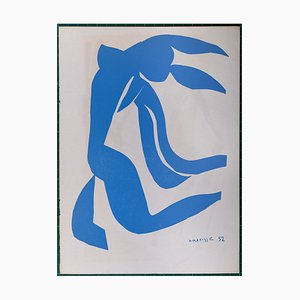 La Chevelure Stencil Reprint by Henri Matisse, 1938