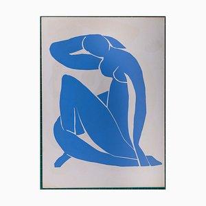 Nu Bleu II Pochoir Nachdruck von Henri Matisse, 1952