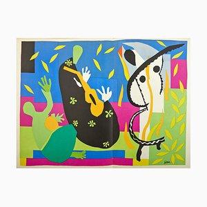 Lithographie La Tristesse du Roi par Henri Matisse, 1958