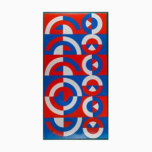 Motifs Serigraph by Jacques Tissinier, 1970