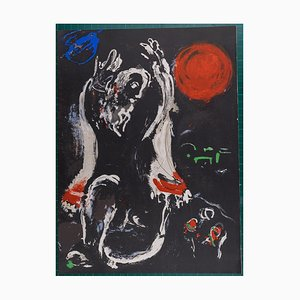 The Bible: Isaiah Lithograph by Marc Chagall, 1956
