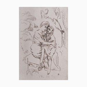 Sainte Monique Radierung von Pierre Bonnard, 1932