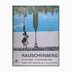 Musée d'art Moderne de Paris Poster von Robert Rauschenberg, 1968