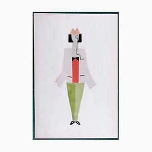 Costumi Pochoir Reprint di Sonia Delaunay, 1969