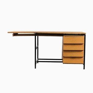 Deutscher Mid-Century Klapp Schreibtisch, 1960er