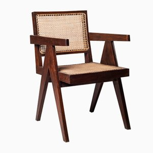 Mid-Century Desk Chair by Pierre Jeanneret for Pierre Jeanneret, 1950s