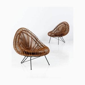Iron Lounge Chair by Janine Abraham & Dirk Jan Rol for Rougier, 1950s