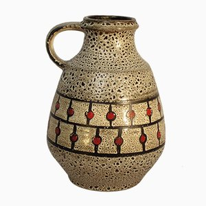 Vintage German Ceramic Pitcher from Jasba, 1960s