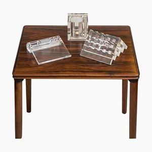 Vintage Lucite Kugelschreiber und Briefhalter von Guzzini, 3er Set