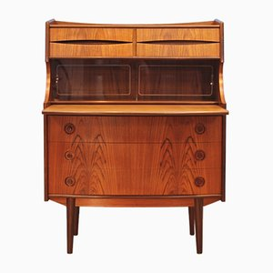 Danish Teak Secretaire by Gunnar Falsig for Möbelfabrik Holstebro, 1960s