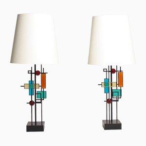 Lampes de Bureau Mid-Century par Svend Aage Holm S