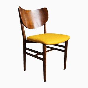 Danish Pine Dining Chairs by Eva & Nils koppel for Slagelse Møbelværk, 1950s, Set of 4