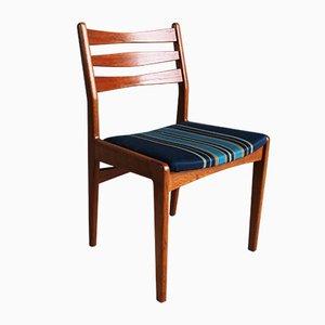 Danish Teak and Oak Dining Chairs by Edmund Jørgensen for Edmund Jørgensen, 1960s, Set of 6