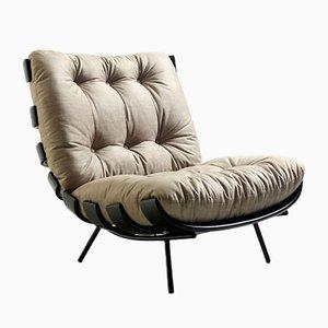 Mid-Century Brazilian Costela Lounge Chair by Martin Eisler & Carlo Hauner, 1950s