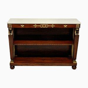 Tables Console Style Empire Mid-Century en Palissandre de Maison Jansen, Set de 2