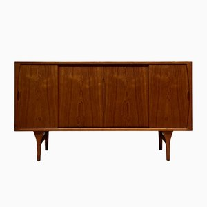 Mid-Century Danish Teak Sideboard by Henning Kjærnulf for Bruno Hansen