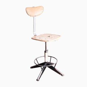 Russian Industrial Swivel Chair, 1970s