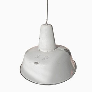 Industrial Factory Ceiling Lamp from Wikasy A23, 1950s