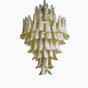 Italian Murano Glass Chandelier, 1980s