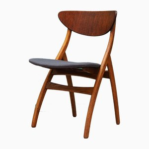 Mid-Century Teak Dining Chairs, Set of 5
