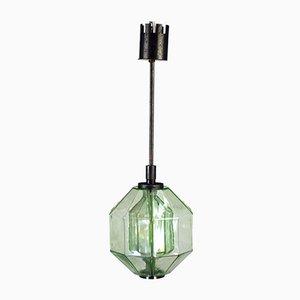 Deckenlampe von Vinicio Vianello für Vistosi, 1950er