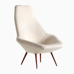 Swedish Lounge Chair by Arne Dahlén for Dahléns Dalums Fåtöljindustri, 1960s