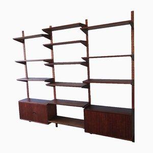 Vintage Danish Teak Modular Shelf System, 1960s