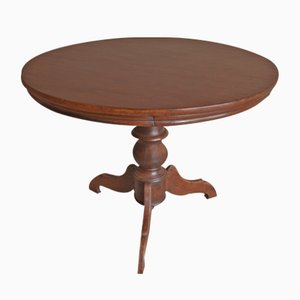 Antique French Mahogany Dining Table