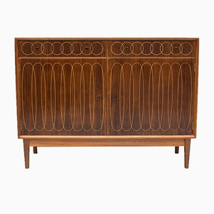 Rosewood Ellipses Sideboard by W H Russell for Gordon Russell, 1950s