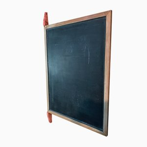 Large Industrial Wooden Blackboard Sign, 1920s