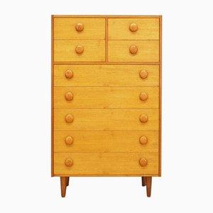 Vintage Danish Teak Veneer Dresser, 1970s