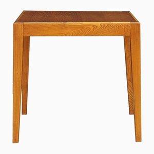 Table d'Appoint Vintage en Teck et Contreplaqu
