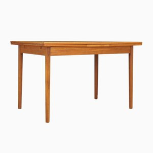 Vintage Danish Teak Extendable Dining Table, 1970s